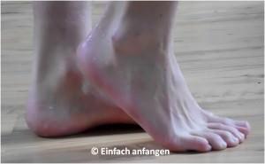 kalte Füsse Fußgymnastik Einfach anfangen