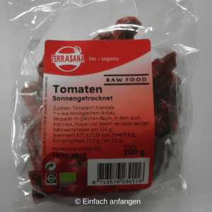 getrocknete Tomaten Einfach anfangen 2