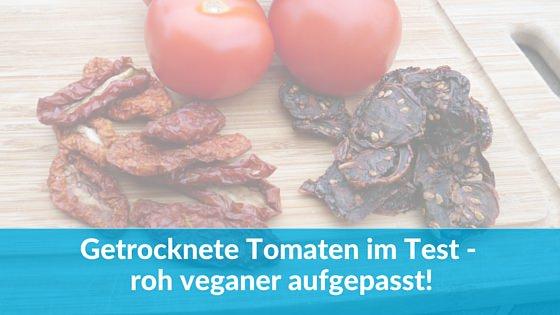 getrocknete Tomaten ohne Salz